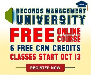 Records Management University | FREE 6-Session Online Course