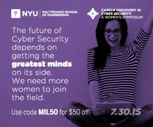 Career Discovery in Cyber Security: A Women's Symposium