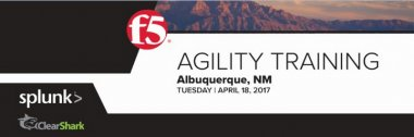 F5 Albuquerque Agility Training: Improve Security and