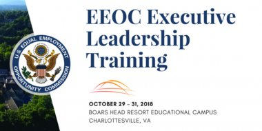 Eeoc Executive Leadership Training Govevents Com